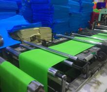 环保布袋生产车间