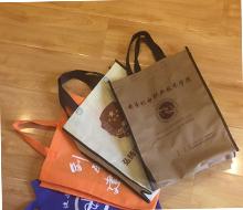手提袋覆膜环保袋广告购物袋印刷logo