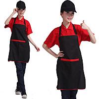广告围裙定制logo咖啡火锅店