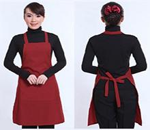 厂家订制定做广告围裙可印刷diy印字印logo促销礼品宣传围裙