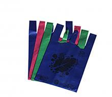 无纺布背心袋 现货手提购物袋 多种纯色布袋