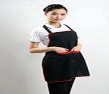 时尚简单H型背带可调节工装围裙